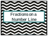 Fractions on a Number Line PowerPoint Presentation