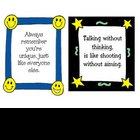 Framed Classroom Inspirational - Motivational Sayings