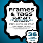 Frames Tags Borders for Commercial Use Package 4