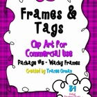 Frames Tags Borders for Commercial Use Package 5
