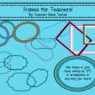 Frames for Teachers Clipart