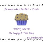 Français - I Write What I Eat