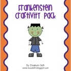 Frankenstein Craftivity Pack
