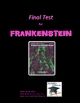 Frankenstein Final Test