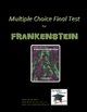 Frankenstein Multiple Choice Final Test