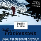 Frankenstein Supplemental Activities 4-Pack Bundle {Text-B