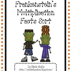 Frankenstein's Math Fact Halloween Game