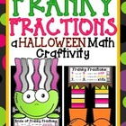 Franky Fractions: A Halloween Math Craftivity