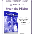 Freak the Mighty  Final Test - Multiple Choice Version