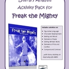 Freak the Mighty Literary Analysis Pack