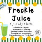 Freckle Juice by Judy Blume: Characters, Plot, and Setting