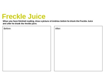 Freckle Juice unit (compiled packet)