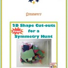 Free 2D Shape Cut-Outs for a Symmetry Hunt