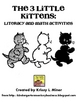 Free 3 Little Kitten Math and Literacy Activity Sampler
