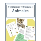 Free Animales Unit Spanish