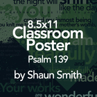 Free Bible Typography Poster - Psalm 139