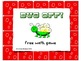 Free Bug Off! Small group math or reading game