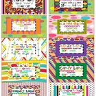 Free Candy Land Organization Labels