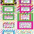 Free Candy Land Organizational Labels (#5)