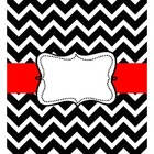 Free Chevron Binder Black