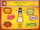 Free Christian Superhero Clipart from Charlotte's Clips