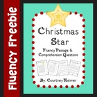 Free Christmas Fluency Passage and Comprehension Questions