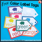 Free Color Labelling Activity Tags