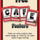 Free Daily 5 CAFE Posters - Kinder Ladybug Fun