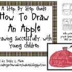 Free Directed Drawing Kit: How to Draw an Apple K-2