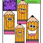 {Free} Doodle Face Pencil Clipart