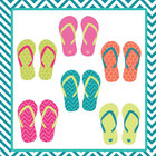 Free Download - Summer Sandals Clip Art
