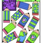 {Free} Earth Day Pencils {Creative Clips Digital Clipart}