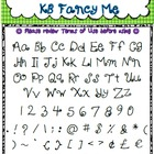 Free Font - Personal or Commercial Use: KB Fancy Me