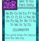{Free Font} Walk in the Park Dotty Font {Creative Clips Fonts}