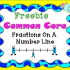 Free Fraction Number Lines: Common Core