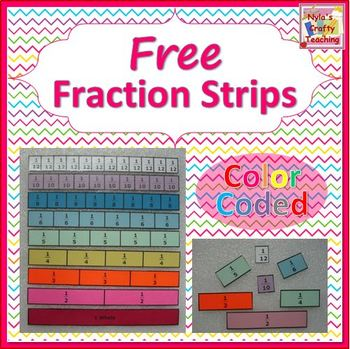 Free Fraction Strips