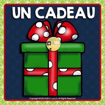 {Free} French - Surprise Christmas Gift - Un Cadeau de Noël