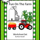 Free Fun Time On The Farm Worksheet Set