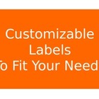 Free Labels to Customize