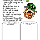 Free Lucky the Leprechaun Activity Follow Up