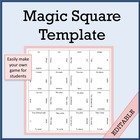 Free Magic Squares Template