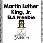 Free Martin Luther King Day Word Work