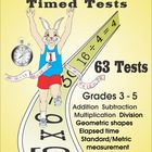Free Math Timed Tests Sampler