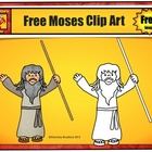 Free Moses Clip Art - For Personal Use by Charlotte's Clips