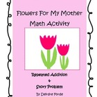 Free Mother's Day Math - Story Problems  - First & Second Grade