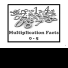 Free Multiplication Flashcards for your SMARTboard - Facts 0 - 5