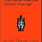 Free Native American Symbol Drawings by Art Teacher Carol