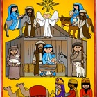 Free Nativity Clip Art for Christmas by Charlotte's Clips