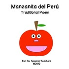 Free Poem in Spanish - Manzanita del Peru