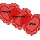 Free Preview of Valentine's Day Hearts Clip Art - Letters,